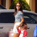 Paula Echevarría de compras con su hija Daniela Bustamante