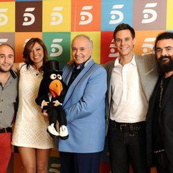 El equipo al completo de 'Tu sí que vales', de Telecinco