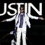 Justin en concierto en México DF