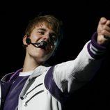 Justin Bieber, encantador con sus fans en México DF