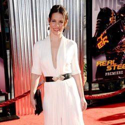Evangeline Lilly en el estreno de 'Acero puro' en Los Ángeles