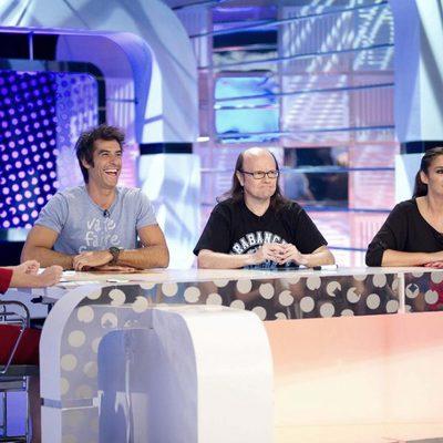 Anabel Alonso, Jorge Fernández, Santiago Segura y Vicky Martín Berrocal en 'Mucho que perder, poco que ganar'