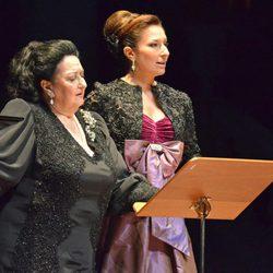 Montserrat Caballé y Montserrat Martí ofrecen un concierto benéfico en Sevilla