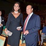Carmen Tello y Curro Romero en el concierto benéfico de Montserrat Caballé y Montserrat Martí en Sevilla