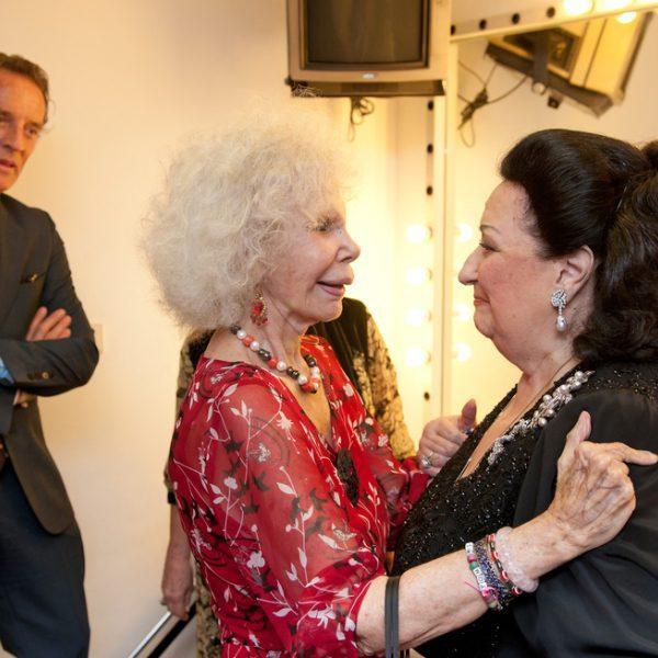Concierto benéfico de Montserrat Caballé y Montserrat Martí en Sevilla