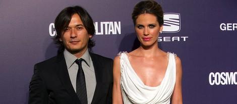 Alberto Caballero y Vanesa Romero en los Premios Cosmopolitan Fun Fearless Female 2011