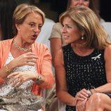 Ana Botella y María Eugenia Yagüe en el desfile de la nueva colección de Tot-Hom
