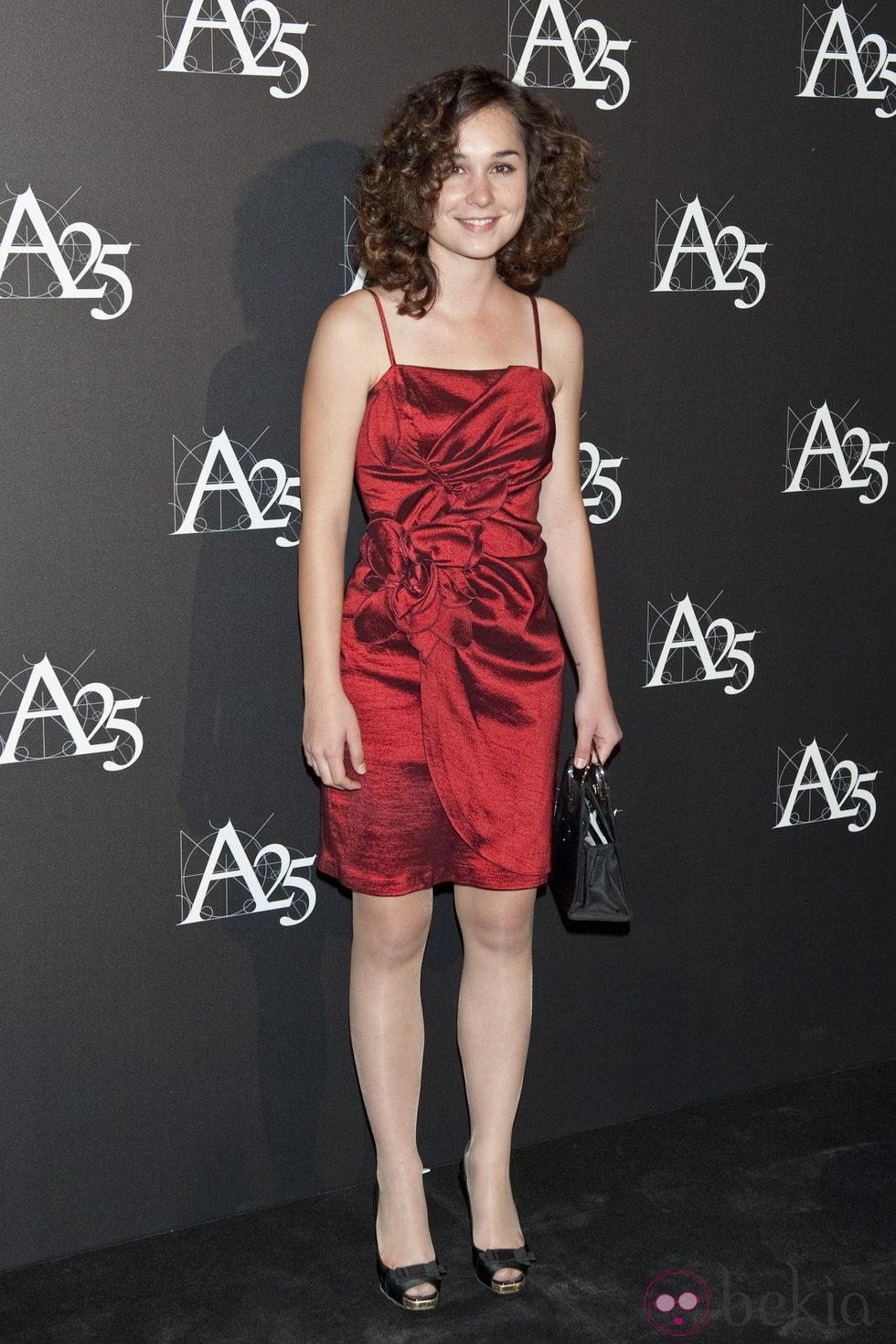 Nadia de Santiago durante un acto en la Academia de Cine