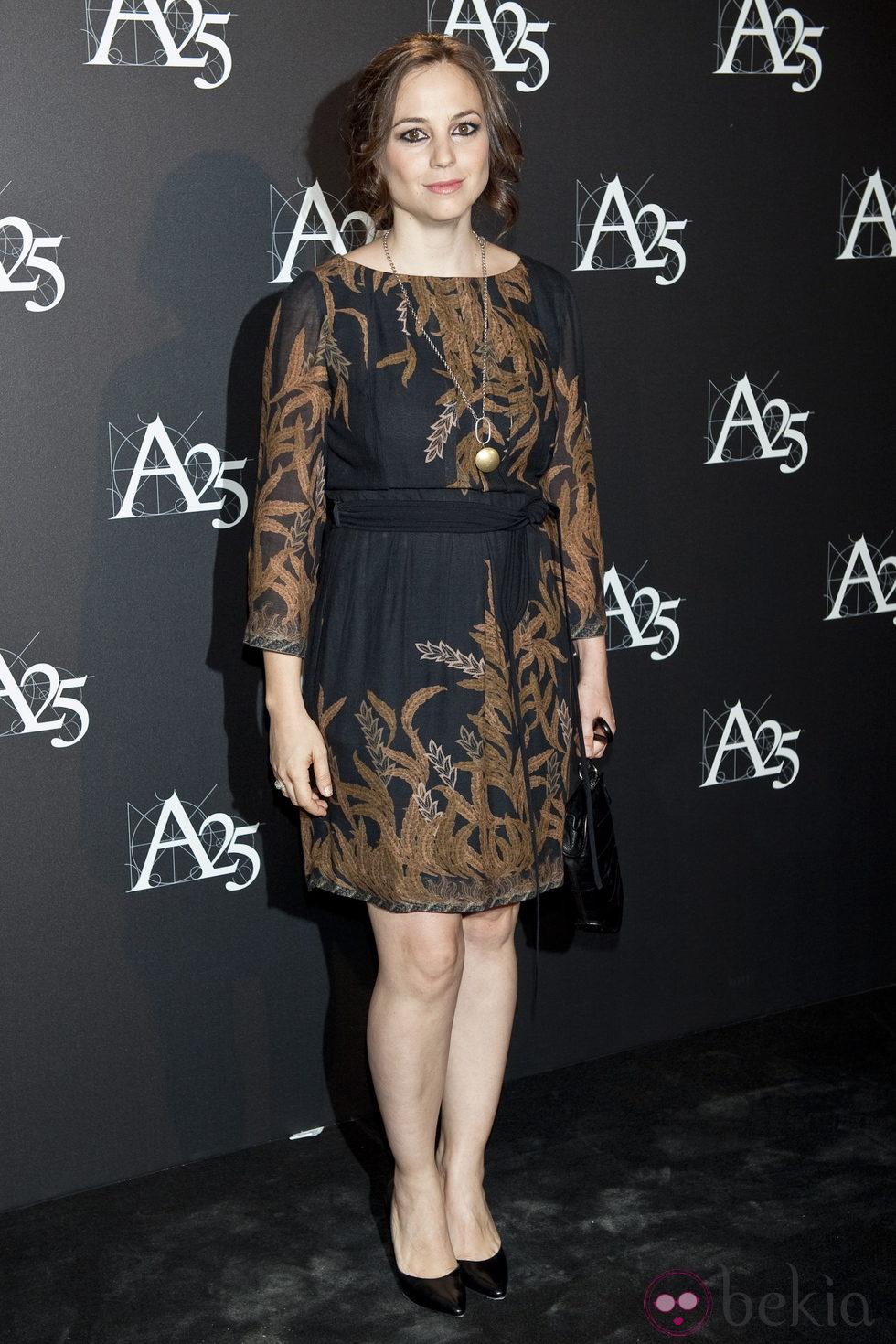 Leonor Watling durante un acto de la Academia de Cine