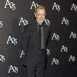 José Luis Alcaine durante un acto de la Academia de Cine