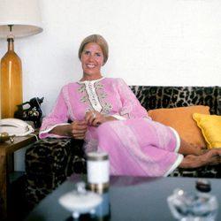 La Duquesa de Alba en la Finca 'Las Cañas' de Marbella en 1973