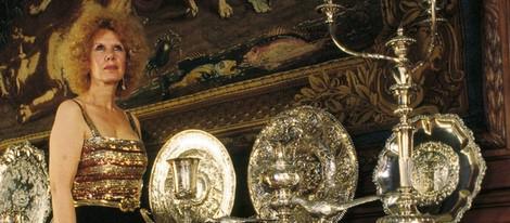 Cayetana Fitz James en el Palacio de Liria