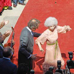 Cayetana de Alba baila para celebrar su boda con Alfonso Díez