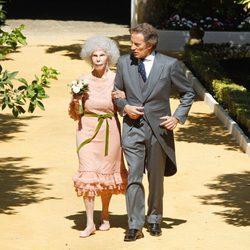 La Duquesa de Alba y Alfonso Díez convertidos en marido y mujer