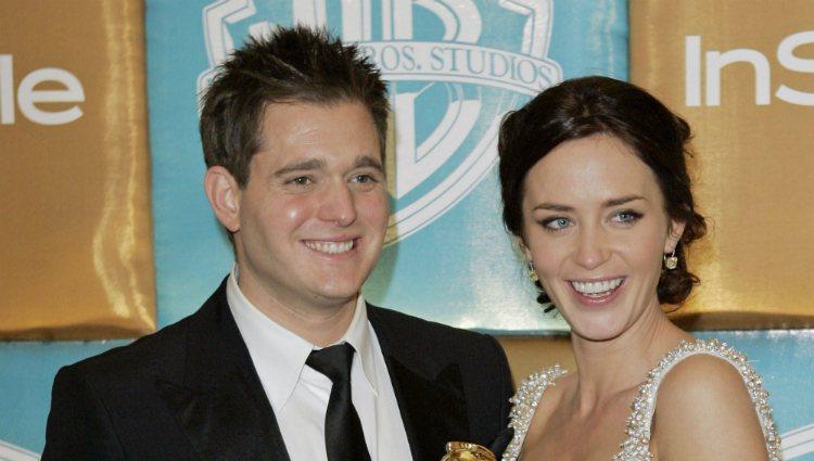 Michael Bublé y Emily Blunt