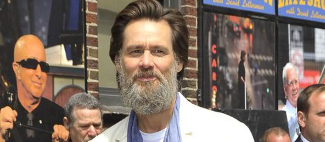 Jim Carrey en el 'Late Show with David Letterman'