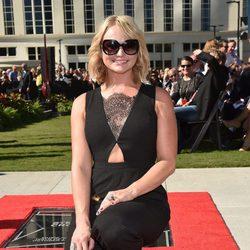 Miranda Lambert en la presentación de su estrella de la fama