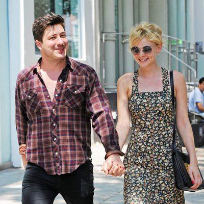 Carey Mulligan y Marcus Mumford, casados desde 2012