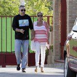 Isabel Pantoja sale de la cárcel por tercera vez de la mano de su hermano Agustín