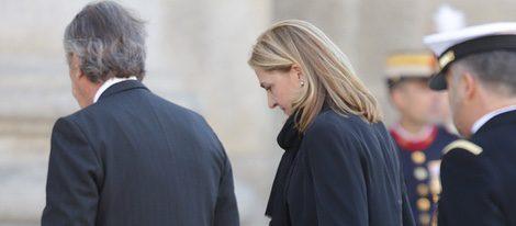 La Infanta Cristina reaparece tras el anuncio de la fecha de su juicio