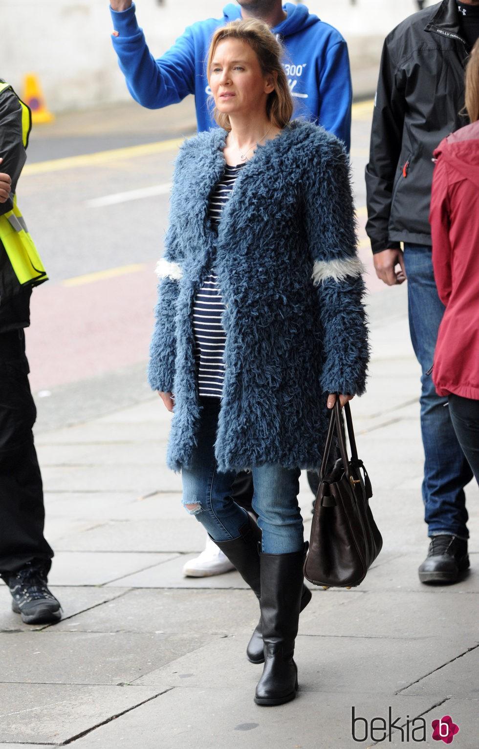Renée Zellweger, embarazada en 'Bridget Jones baby'