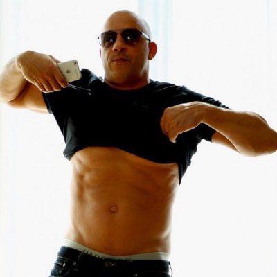 Vin Diesel vuelve a lucir su envidiable figura