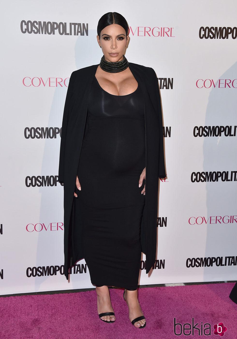 Kim Kardashian en la fiesta 50 aniversario de Cosmopolitan