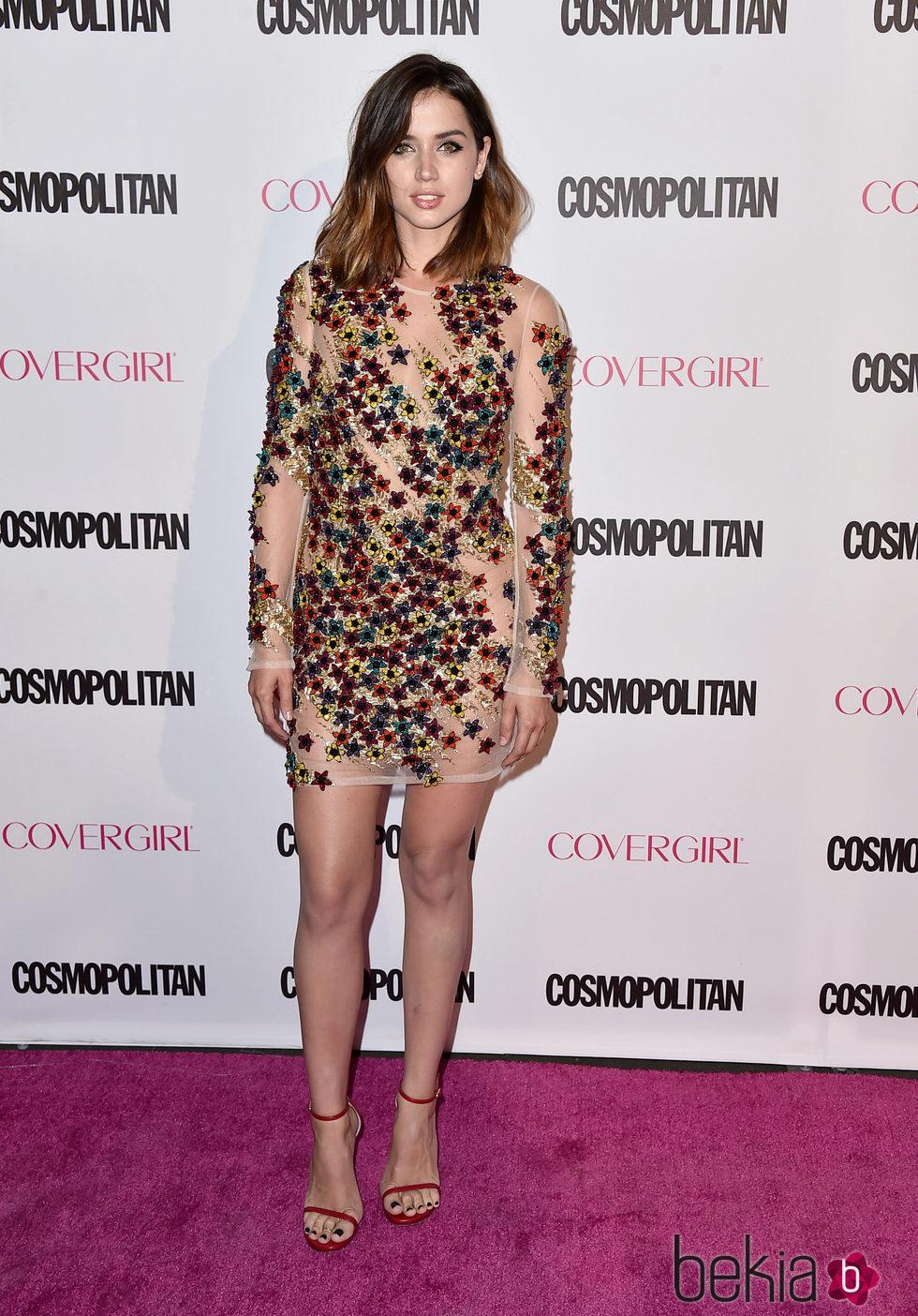 Ana de Armas en la fiesta 50 aniversario de Cosmopolitan