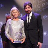 Alicia Giménez Bartlett y Daniel Sánchez Arévalo, ganadora y finalista del Premio Planeta 2015