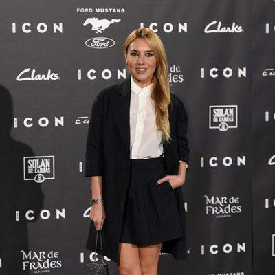 Berta Collado en los Premios Icon 2015