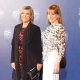 Julia Otero y Gloria Lomana en la entrega del Premio Planeta 2015