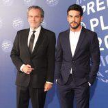 José Coronado y Mario Casas en la entrega del Premio Planeta 2015
