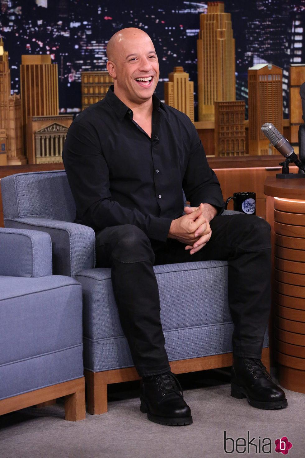 Vin Diesel en 'The Tonight Show'