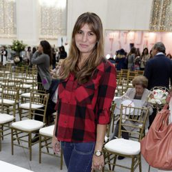 Silvia Casas en el front row de la Petite Fashion Week