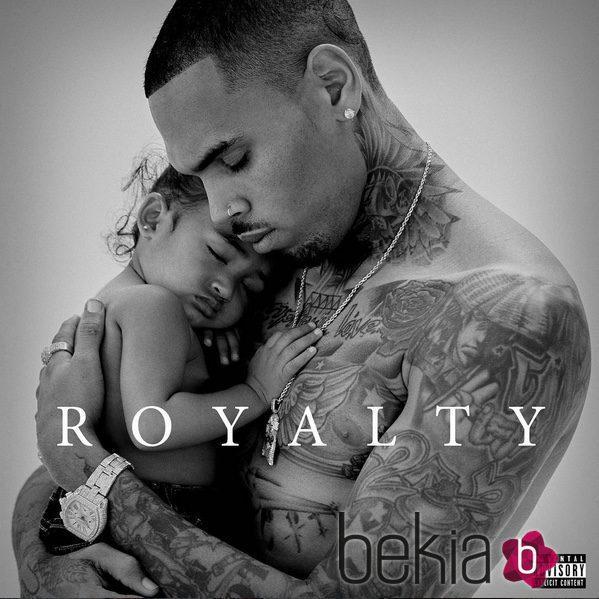 Chris Brown y su hija Royalty protagonistas de la portada de su nuevo álbum