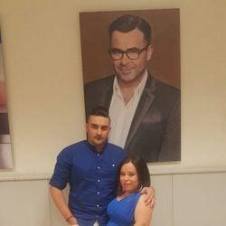 Chiqui luce embarazo con su marido Borja Navarro en Telecinco