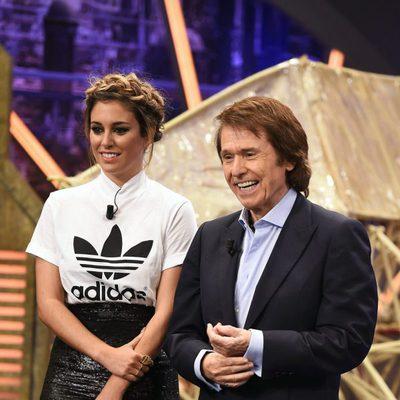 Blanca Suárez y Raphael en 'El Hormiguero' presentando 'Mi Gran Noche'