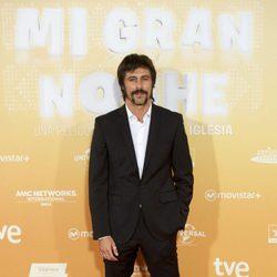 Hugo Silva en el estreno de 'Mi gran noche'