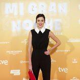 Dafne Fernández en el estreno de 'Mi gran noche'