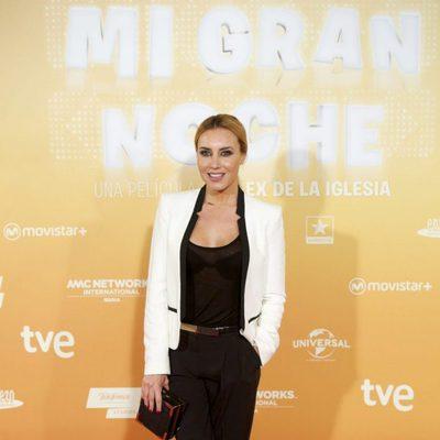 Berta Collado en el estreno de 'Mi gran noche'