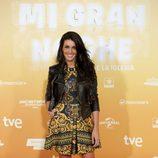 Noelia López en el estreno de 'Mi gran noche'