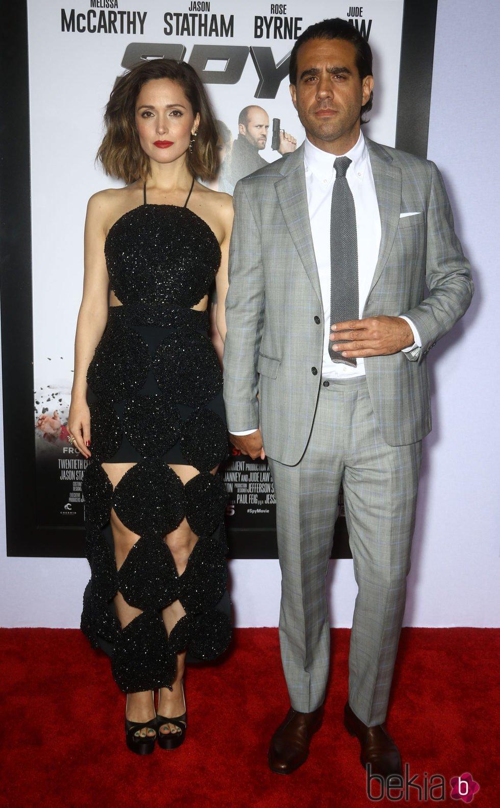 Rose Byrne y su pareja, Bobby Cannavale