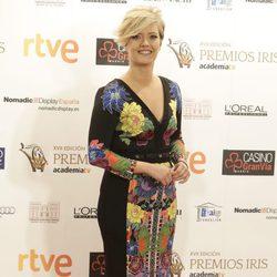 María Casado en los Premios Iris de la Academia de Televisión 2015