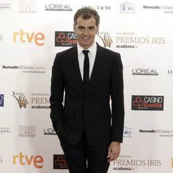 Toni Cantó en los Premios Iris de la Academia de Televisión 2015