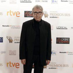 José Sacristán en los Premios Iris de la Academia de Televisión 2015