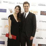 Christian Gálvez y Almudena Cid en los Premios Iris de la Academia de Televisión 2015