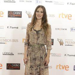 Adela Úcar en los Premios Iris de la Academia de Televisión 2015