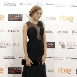 María Castro en los Premios Iris de la Academia de Televisión 2015