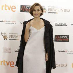 Aura Garrido en los Premios Iris de la Academia de Televisión 2015