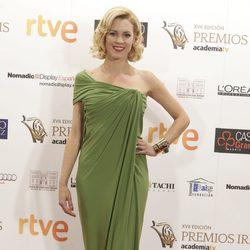 Maggie Civantos en los Premios Iris de la Academia de Televisión 2015